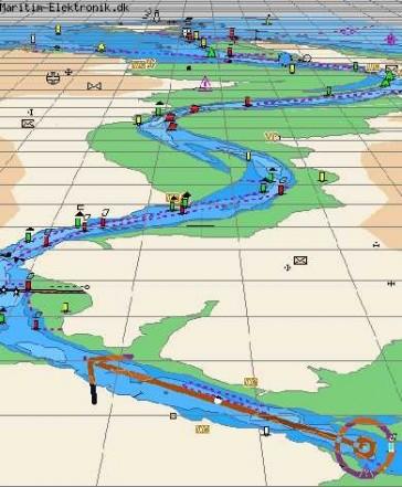 PC navigation program for C-Map