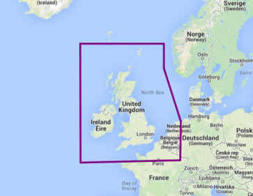 28P+ UK, IRELAND & HOLLAND