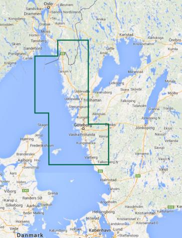 Zachodnie wybrzeze Szwecji